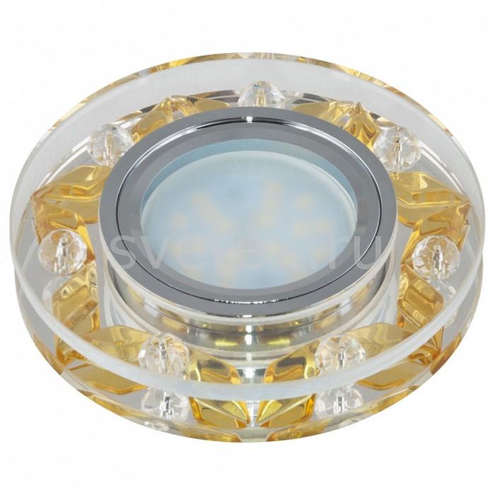 Встраиваемый светильник UnielПотолочные светильники<br>Примечание - прозрачный с золотым декором,Артикул - UL_09988,Бренд - Uniel (Китай),Коллекция - Peonia,Гарантия, месяцы - 24,Высота, мм - 31,Выступ, мм - 16,Глубина, мм - 15,Диаметр, мм - 95,Размер врезного отверстия, мм - d65,Тип лампы - светодиодная (LED), галогеновая,Общее кол-во ламп - 1,Напряжение питания лампы, В - 12,Максимальная мощность лампы, Вт - 35,Лампы в комплекте - отсутствуют,Цвет арматуры - золото, неокрашенный, хром,Тип поверхности арматуры - глянцевый, прозрачный,Материал арматуры - металл, стекло,Возможность подлючения диммера - можно, если установить галогеновую лампу,Компоненты, входящие в комплект - Трансформатор 12 В,Форма и тип колбы - полусферическая с рефлектором,Тип цоколя лампы - GU5.3,Класс электробезопасности - I,Напряжение питания, В - 220,Степень пылевлагозащиты, IP - 20,Диапазон рабочих температур - комнатная температура<br>
