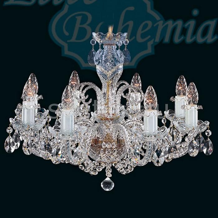 Подвесная люстра Elite BohemiaБолее 6 ламп<br>Артикул - EB_L_120_8_02,Бренд - Elite Bohemia (Чехия),Коллекция - Original Classic 120,Гарантия, месяцы - 24,Время изготовления, дней - 1,Высота, мм - 450,Диаметр, мм - 580,Размер упаковки, мм - 580x380x240,Тип лампы - компактная люминесцентная [КЛЛ] ИЛИнакаливания ИЛИсветодиодная [LED],Общее кол-во ламп - 8,Напряжение питания лампы, В - 220,Максимальная мощность лампы, Вт - 40,Лампы в комплекте - отсутствуют,Цвет плафонов и подвесок - неокрашенный,Тип поверхности плафонов - прозрачный,Материал плафонов и подвесок - хрусталь,Цвет арматуры - белый, золото, неокрашенный,Тип поверхности арматуры - глянцевый, рельефный,Материал арматуры - металл, хрусталь,Возможность подлючения диммера - можно, если установить лампу накаливания,Форма и тип колбы - свеча ИЛИ свеча на ветру,Тип цоколя лампы - E14,Класс электробезопасности - I,Общая мощность, Вт - 320,Степень пылевлагозащиты, IP - 20,Диапазон рабочих температур - комнатная температура,Дополнительные параметры - указана высота светильника без подвеса<br>