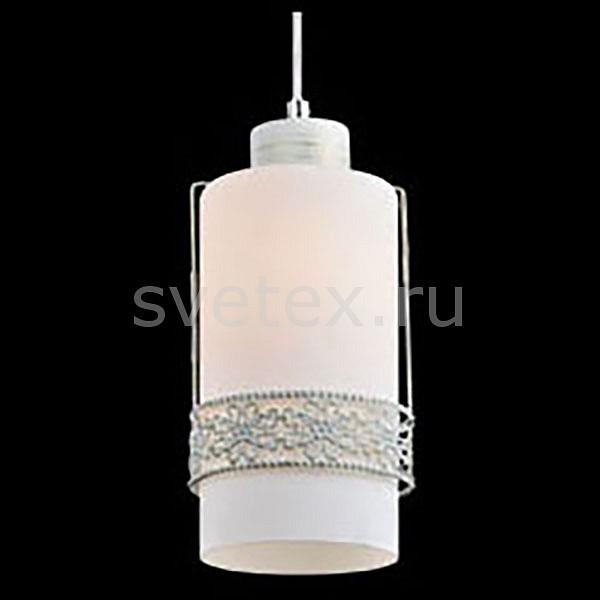 Подвесной светильник EurosvetСветодиодные<br>Артикул - EV_73894,Бренд - Eurosvet (Китай),Коллекция - 50021,Гарантия, месяцы - 24,Высота, мм - 800,Диаметр, мм - 100,Тип лампы - компактная люминесцентная [КЛЛ] ИЛИнакаливания ИЛИсветодиодная [LED],Общее кол-во ламп - 1,Напряжение питания лампы, В - 220,Максимальная мощность лампы, Вт - 60,Лампы в комплекте - отсутствуют,Цвет плафонов и подвесок - белый с орнаментом,Тип поверхности плафонов - матовый,Материал плафонов и подвесок - металл, стекло,Цвет арматуры - белый с золотой патиной,Тип поверхности арматуры - матовый, рельефный,Материал арматуры - металл,Количество плафонов - 1,Возможность подлючения диммера - можно, если установить лампу накаливания,Тип цоколя лампы - E27,Класс электробезопасности - I,Степень пылевлагозащиты, IP - 20,Диапазон рабочих температур - комнатная температура,Дополнительные параметры - способ крепления светильника к потолку - на монтажной пластине, регулируется по высоте<br>