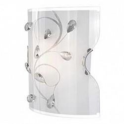 Накладной светильник GloboСветодиодные<br>Артикул - GB_40404W,Бренд - Globo (Австрия),Коллекция - Burgundy,Гарантия, месяцы - 24,Высота, мм - 220,Тип лампы - компактная люминесцентная [КЛЛ] ИЛИнакаливания ИЛИсветодиодная [LED],Общее кол-во ламп - 1,Напряжение питания лампы, В - 220,Максимальная мощность лампы, Вт - 60,Лампы в комплекте - отсутствуют,Цвет плафонов и подвесок - белый с рисунком, неокрашенный,Тип поверхности плафонов - матовый,Материал плафонов и подвесок - стекло, хрусталь,Цвет арматуры - никель,Тип поверхности арматуры - глянцевый,Материал арматуры - металл,Возможность подлючения диммера - можно, если установить лампу накаливания,Тип цоколя лампы - E27,Класс электробезопасности - I,Степень пылевлагозащиты, IP - 20,Диапазон рабочих температур - комнатная температура<br>