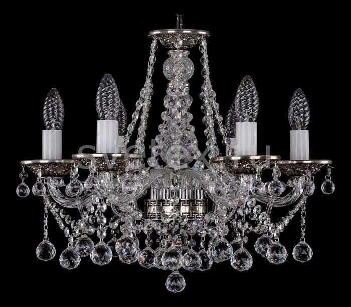 Фото Подвесная люстра Bohemia Ivele Crystal 1613 1613/6/165/NB/Balls
