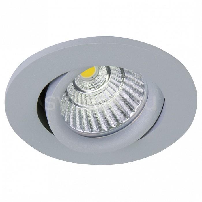 Встраиваемый светильник LightstarВстраиваемые светильники<br>Артикул - LS_212439,Бренд - Lightstar (Италия),Коллекция - Soffi,Гарантия, месяцы - 24,Выступ, мм - 4,Глубина, мм - 40,Диаметр, мм - 95,Размер врезного отверстия, мм - 75,Тип лампы - светодиодная [LED],Общее кол-во ламп - 1,Максимальная мощность лампы, Вт - 8,Цвет лампы - белый,Лампы в комплекте - светодиодная [LED],Цвет арматуры - серый,Тип поверхности арматуры - матовый,Материал арматуры - металл,Цветовая температура, K - 4000 K,Экономичнее лампы накаливания - в 10 раз,Класс электробезопасности - I,Напряжение питания, В - 220,Степень пылевлагозащиты, IP - 44,Диапазон рабочих температур - от -40^C до +40^C,Дополнительные параметры - поворотный светильник<br>