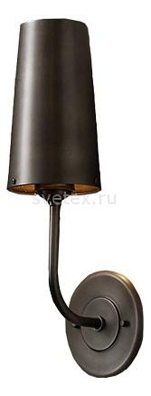 Бра Restoration HardwareСветодиодные<br>Артикул - RMR_DTL9123,Бренд - Restoration Hardware (США),Коллекция - Модерн,Гарантия, месяцы - 12,Ширина, мм - 110,Высота, мм - 340,Тип лампы - компактная люминесцентная [КЛЛ] ИЛИнакаливания ИЛИсветодиодная [LED],Общее кол-во ламп - 1,Напряжение питания лампы, В - 220,Максимальная мощность лампы, Вт - 60,Лампы в комплекте - отсутствуют,Цвет плафонов и подвесок - черный,Тип поверхности плафонов - матовый,Материал плафонов и подвесок - металл,Цвет арматуры - черный,Тип поверхности арматуры - матовый,Материал арматуры - металл,Количество плафонов - 1,Возможность подлючения диммера - можно, если установить лампу накаливания,Тип цоколя лампы - E14,Класс электробезопасности - I,Степень пылевлагозащиты, IP - 20,Диапазон рабочих температур - комнатная температура,Дополнительные параметры - способ крепления светильника к стене - на монтажной пластине, светильник предназначен для  использования со скрытой проводкой<br>