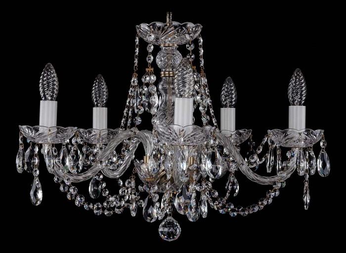 Фото Подвесная люстра Bohemia Ivele Crystal 1406 1406/5/195/Pa