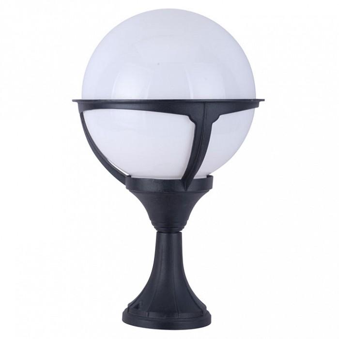 Фото Наземный низкий светильник Arte Lamp Monaco A1494FN-1BK