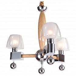 Подвесная люстра Lucia TucciДеревянные<br>Артикул - LT_Natura_088.3,Бренд - Lucia Tucci (Италия),Коллекция - Natura,Гарантия, месяцы - 24,Высота, мм - 890,Диаметр, мм - 500,Тип лампы - компактная люминесцентная [КЛЛ] ИЛИнакаливания ИЛИсветодиодная [LED],Общее кол-во ламп - 3,Напряжение питания лампы, В - 220,Максимальная мощность лампы, Вт - 60,Лампы в комплекте - отсутствуют,Цвет плафонов и подвесок - белый, неокрашенный,Тип поверхности плафонов - матовый, прозрачный,Материал плафонов и подвесок - стекло,Цвет арматуры - сосна, хром,Тип поверхности арматуры - глянцевый, матовый,Материал арматуры - дерево, металл,Возможность подлючения диммера - можно, если установить лампу накаливания,Тип цоколя лампы - E14,Класс электробезопасности - I,Общая мощность, Вт - 180,Степень пылевлагозащиты, IP - 20,Диапазон рабочих температур - комнатная температура,Дополнительные параметры - регулируется по высоте,  способ крепления светильника к потолку – на крюке<br>