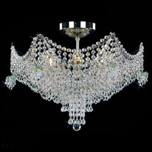 Люстра на штанге Preciosa5 или 6 ламп<br>Артикул - PR_45096900604000935,Бренд - Preciosa (Чехия),Коллекция - Brilliant,Гарантия, месяцы - 24,Время изготовления, дней - 1,Высота, мм - 400,Диаметр, мм - 510,Тип лампы - компактная люминесцентная [КЛЛ] ИЛИнакаливания ИЛИсветодиодная [LED],Общее кол-во ламп - 6,Напряжение питания лампы, В - 220,Максимальная мощность лампы, Вт - 40,Лампы в комплекте - отсутствуют,Цвет плафонов и подвесок - неокрашенный,Тип поверхности плафонов - прозрачный,Материал плафонов и подвесок - хрусталь,Цвет арматуры - никель,Тип поверхности арматуры - глянцевый,Материал арматуры - металл,Возможность подлючения диммера - можно, если установить лампу накаливания,Тип цоколя лампы - E14,Класс электробезопасности - I,Общая мощность, Вт - 240,Степень пылевлагозащиты, IP - 20,Диапазон рабочих температур - комнатная температура,Дополнительные параметры - масса светильника 5 кг<br>