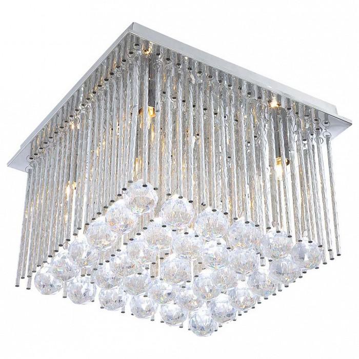 Потолочная люстра GloboПолимерные плафоны<br>Артикул - GB_68348-6,Бренд - Globo (Австрия),Коллекция - Janina,Гарантия, месяцы - 24,Время изготовления, дней - 1,Длина, мм - 320,Ширина, мм - 320,Высота, мм - 230,Тип лампы - галогеновая,Общее кол-во ламп - 6,Напряжение питания лампы, В - 220,Максимальная мощность лампы, Вт - 33,Цвет лампы - белый теплый,Лампы в комплекте - галогеновые G9,Цвет плафонов и подвесок - неокрашенный,Тип поверхности плафонов - прозрачный,Материал плафонов и подвесок - акрил,Цвет арматуры - хром,Тип поверхности арматуры - матовый,Материал арматуры - алюминий,Возможность подлючения диммера - можно,Форма и тип колбы - пальчиковая,Тип цоколя лампы - G9,Цветовая температура, K - 2800 - 3200 K,Экономичнее лампы накаливания - на 50%,Ресурс лампы - 2 тыс. часов,Класс электробезопасности - I,Общая мощность, Вт - 198,Степень пылевлагозащиты, IP - 20,Диапазон рабочих температур - комнатная температура<br>