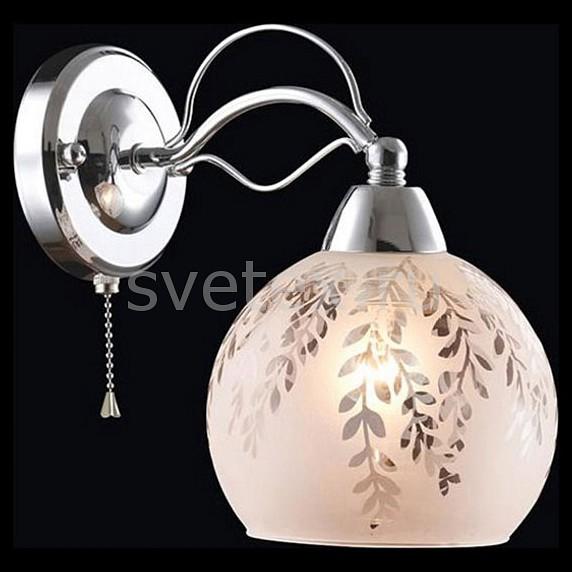Бра ОптимаНастенные светильники<br>Артикул - EV_77248,Бренд - Оптима (Китай),Коллекция - Ренессанс,Гарантия, месяцы - 24,Ширина, мм - 150,Высота, мм - 240,Выступ, мм - 220,Тип лампы - компактная люминесцентная [КЛЛ] ИЛИнакаливания ИЛИсветодиодная [LED],Общее кол-во ламп - 1,Напряжение питания лампы, В - 220,Максимальная мощность лампы, Вт - 40,Лампы в комплекте - отсутствуют,Цвет плафонов и подвесок - белый с неокрашенным рисунком,Тип поверхности плафонов - матовый,Материал плафонов и подвесок - стекло,Цвет арматуры - хром,Тип поверхности арматуры - глянцевый,Материал арматуры - металл,Количество плафонов - 1,Наличие выключателя, диммера или пульта ДУ - выключатель шнуровой,Возможность подлючения диммера - можно, если установить лампу накаливания,Тип цоколя лампы - E27,Класс электробезопасности - I,Степень пылевлагозащиты, IP - 20,Диапазон рабочих температур - комнатная температура,Дополнительные параметры - способ крепления светильника к стене - на монтажной пластине, светильник предназначен для  использования со скрытой проводкой<br>