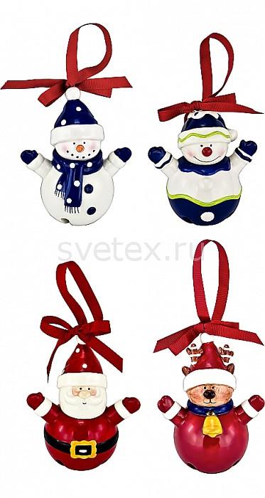 Фото Елочный шар Mister Christmas x 14 см Бубенчики
