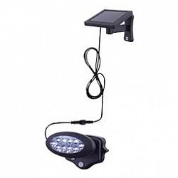 Накладной светильник GloboС 1 плафоном<br>Артикул - GB_3722S,Бренд - Globo (Австрия),Коллекция - Solar,Гарантия, месяцы - 24,Высота, мм - 113,Размер упаковки, мм - 175х120х148,Тип лампы - светодиодная [LED],Общее кол-во ламп - 10,Напряжение питания лампы, В - 220,Максимальная мощность лампы, Вт - 0, 06,Лампы в комплекте - светодиодные [LED],Цвет плафонов и подвесок - неокрашенный, черный,Тип поверхности плафонов - глянцевый, прозрачный,Материал плафонов и подвесок - полимер,Цвет арматуры - черный,Тип поверхности арматуры - глянцевый,Материал арматуры - полимер,Класс электробезопасности - III,Степень пылевлагозащиты, IP - 44,Диапазон рабочих температур - от - 20^C до +40^C<br>