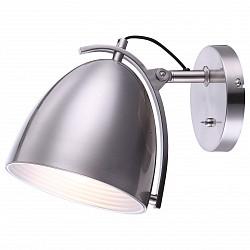 Бра GloboМеталлический плафон<br>Артикул - GB_15130W,Бренд - Globo (Австрия),Коллекция - Jackson,Гарантия, месяцы - 24,Высота, мм - 230,Размер упаковки, мм - 245x205x260,Тип лампы - компактная люминесцентная [КЛЛ] ИЛИнакаливания ИЛИсветодиодная [LED],Общее кол-во ламп - 1,Напряжение питания лампы, В - 220,Максимальная мощность лампы, Вт - 60,Лампы в комплекте - отсутствуют,Цвет плафонов и подвесок - никель,Тип поверхности плафонов - сатин,Материал плафонов и подвесок - металл,Цвет арматуры - никель,Тип поверхности арматуры - сатин,Материал арматуры - металл,Тип цоколя лампы - E27,Класс электробезопасности - I,Степень пылевлагозащиты, IP - 20,Диапазон рабочих температур - комнатная температура,Дополнительные параметры - способ крепления светильника к стене – на монтажной пластине, светильник предназначен для использования со скрытой проводкой<br>