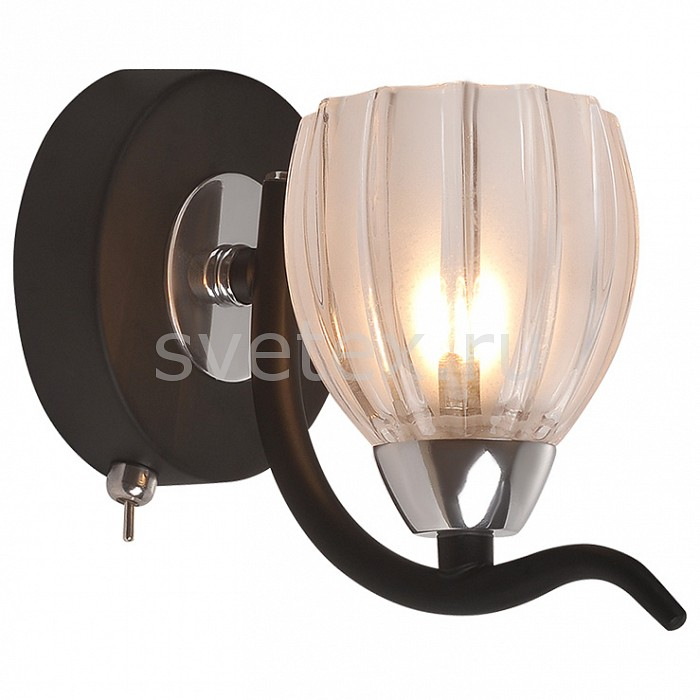 Фото Бра IDLamp 213 213/1A-Blackchrome