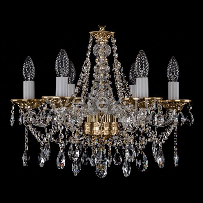 Фото Подвесная люстра Bohemia Ivele Crystal 1613 1613/6/165/G