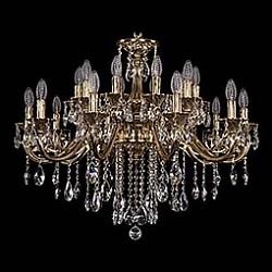 Подвесная люстра Bohemia Ivele CrystalБолее 6 ламп<br>Артикул - BI_1703_20_B_GB,Бренд - Bohemia Ivele Crystal (Чехия),Коллекция - 1703,Гарантия, месяцы - 24,Высота, мм - 510,Диаметр, мм - 830,Размер упаковки, мм - 640x640x320,Тип лампы - компактная люминесцентная [КЛЛ] ИЛИнакаливания ИЛИсветодиодная [LED],Общее кол-во ламп - 20,Напряжение питания лампы, В - 220,Максимальная мощность лампы, Вт - 40,Лампы в комплекте - отсутствуют,Цвет плафонов и подвесок - неокрашенный,Тип поверхности плафонов - прозрачный,Материал плафонов и подвесок - хрусталь,Цвет арматуры - золото черненое,Тип поверхности арматуры - глянцевый, рельефный,Материал арматуры - латунь,Возможность подлючения диммера - можно, если установить лампу накаливания,Форма и тип колбы - свеча ИЛИ свеча на ветру,Тип цоколя лампы - E14,Класс электробезопасности - I,Общая мощность, Вт - 800,Степень пылевлагозащиты, IP - 20,Диапазон рабочих температур - комнатная температура,Дополнительные параметры - способ крепления светильника к потолку - на крюке, указана высота светильника без подвеса<br>