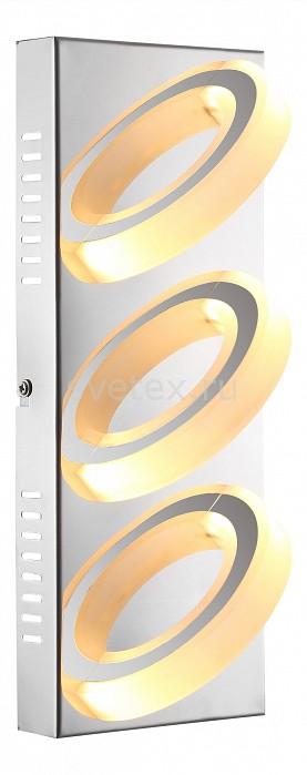 Накладной светильник GloboСветодиодные<br>Артикул - GB_67062-3,Бренд - Globo (Австрия),Коллекция - Mangue,Гарантия, месяцы - 24,Длина, мм - 320,Ширина, мм - 125,Выступ, мм - 100,Размер упаковки, мм - 130x105x325,Тип лампы - светодиодная [LED],Общее кол-во ламп - 3,Напряжение питания лампы, В - 12,Максимальная мощность лампы, Вт - 5,Цвет лампы - белый теплый,Лампы в комплекте - светодиодные [LED],Цвет плафонов и подвесок - белый,Тип поверхности плафонов - матовый,Материал плафонов и подвесок - акрил,Цвет арматуры - хром,Тип поверхности арматуры - глянцевый,Материал арматуры - металл,Количество плафонов - 3,Возможность подлючения диммера - нельзя,Компоненты, входящие в комплект - трансформатор 12В,Цветовая температура, K - 3200 K,Световой поток, лм - 220,Экономичнее лампы накаливания - в 6.6 раза,Светоотдача, лм/Вт - 44,Класс электробезопасности - I,Напряжение питания, В - 220,Общая мощность, Вт - 15,Степень пылевлагозащиты, IP - 20,Диапазон рабочих температур - комнатная температура,Дополнительные параметры - способ крепления светильника к потолку и стене - на монтажной пластине<br>