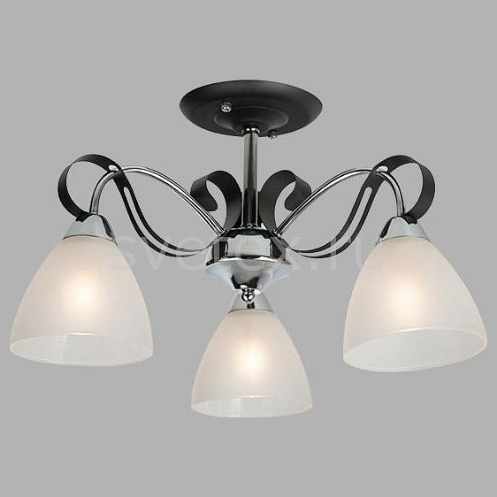 Люстра на штанге ОптимаЛюстры<br>Артикул - EV_76978,Бренд - Оптима (Китай),Коллекция - Шарлиз,Гарантия, месяцы - 24,Высота, мм - 300,Диаметр, мм - 490,Тип лампы - компактная люминесцентная [КЛЛ] ИЛИнакаливания ИЛИсветодиодная [LED],Общее кол-во ламп - 3,Напряжение питания лампы, В - 220,Максимальная мощность лампы, Вт - 60,Лампы в комплекте - отсутствуют,Цвет плафонов и подвесок - белый,Тип поверхности плафонов - матовый,Материал плафонов и подвесок - стекло,Цвет арматуры - хром, черный,Тип поверхности арматуры - глянцевый, матовый,Материал арматуры - металл,Количество плафонов - 3,Возможность подлючения диммера - можно, если установить лампу накаливания,Тип цоколя лампы - E27,Класс электробезопасности - I,Общая мощность, Вт - 180,Степень пылевлагозащиты, IP - 20,Диапазон рабочих температур - комнатная температура,Дополнительные параметры - способ крепления светильника к потолку - на монтажной пластине<br>
