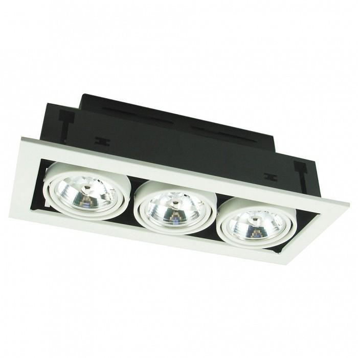 Фото Встраиваемый светильник Arte Lamp Technika 2 A5930PL-3WH