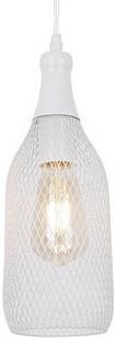 Подвесной светильник Odeon LightБарные<br>Артикул - OD_3354_1,Бренд - Odeon Light (Италия),Коллекция - Bottle,Гарантия, месяцы - 24,Высота, мм - 320-1385,Диаметр, мм - 120,Тип лампы - компактная люминесцентная [КЛЛ] ИЛИнакаливания ИЛИсветодиодная [LED],Общее кол-во ламп - 1,Напряжение питания лампы, В - 220,Максимальная мощность лампы, Вт - 60,Лампы в комплекте - отсутствуют,Цвет плафонов и подвесок - белый,Тип поверхности плафонов - матовый,Материал плафонов и подвесок - металл,Цвет арматуры - белый,Тип поверхности арматуры - матовый,Материал арматуры - металл,Количество плафонов - 1,Возможность подлючения диммера - можно, если установить лампу накаливания,Тип цоколя лампы - E27,Класс электробезопасности - I,Степень пылевлагозащиты, IP - 20,Диапазон рабочих температур - комнатная температура,Дополнительные параметры - способ крепления светильника к потолку - на монтажной пластине, светильник регулируется по высоте<br>