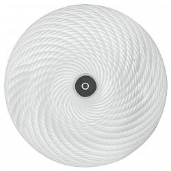 Накладной светильник IDLampКруглые<br>Артикул - ID_352_35PF-LEDWhitechrome,Бренд - IDLamp (Италия),Коллекция - 352,Высота, мм - 180,Диаметр, мм - 450,Тип лампы - светодиодная [LED],Общее кол-во ламп - 1,Напряжение питания лампы, В - 220,Максимальная мощность лампы, Вт - 36,Лампы в комплекте - светодиодная [LED],Цвет плафонов и подвесок - белый полосатый,Тип поверхности плафонов - матовый, рельефный,Материал плафонов и подвесок - стекло,Цвет арматуры - хром,Тип поверхности арматуры - глянцевый,Материал арматуры - металл,Возможность подлючения диммера - нельзя,Класс электробезопасности - I,Степень пылевлагозащиты, IP - 20,Диапазон рабочих температур - комнатная температура,Дополнительные параметры - способ крепления светильника к потолку – на монтажной пластине<br>