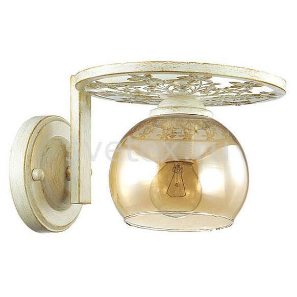 Бра LumionНастенные светильники<br>Артикул - LMN_3234_1W,Бренд - Lumion (Италия),Коллекция - Lunett,Гарантия, месяцы - 24,Ширина, мм - 215,Высота, мм - 145,Выступ, мм - 220,Размер упаковки, мм - 340x130x130,Тип лампы - компактная люминесцентная [КЛЛ] ИЛИнакаливания ИЛИсветодиодная [LED],Общее кол-во ламп - 1,Напряжение питания лампы, В - 220,Максимальная мощность лампы, Вт - 40,Лампы в комплекте - отсутствуют,Цвет плафонов и подвесок - янтарный,Тип поверхности плафонов - прозрачный,Материал плафонов и подвесок - стекло,Цвет арматуры - белый с золотой патиной,Тип поверхности арматуры - матовый,Материал арматуры - металл,Количество плафонов - 1,Возможность подлючения диммера - можно, если установить лампу накаливания,Тип цоколя лампы - E14,Класс электробезопасности - I,Степень пылевлагозащиты, IP - 20,Диапазон рабочих температур - комнатная температура,Дополнительные параметры - способ крепления светильника на стене – на монтажной пластине, светильник предназначен для использования со скрытой проводкой<br>