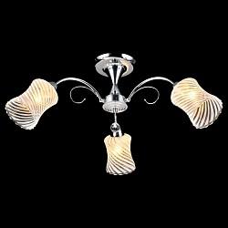 Люстра на штанге ОптимаНе более 4 ламп<br>Артикул - EV_76592,Бренд - Оптима (Китай),Коллекция - Аврова,Гарантия, месяцы - 24,Высота, мм - 290,Диаметр, мм - 500,Тип лампы - компактная люминесцентная [КЛЛ] ИЛИнакаливания ИЛИсветодиодная [LED],Общее кол-во ламп - 3,Напряжение питания лампы, В - 220,Максимальная мощность лампы, Вт - 60,Лампы в комплекте - отсутствуют,Цвет плафонов и подвесок - белый полосатый,Тип поверхности плафонов - матовый,Материал плафонов и подвесок - стекло,Цвет арматуры - хром,Тип поверхности арматуры - глянцевый,Материал арматуры - металл,Возможность подлючения диммера - можно, если установить лампу накаливания,Тип цоколя лампы - E27,Класс электробезопасности - I,Общая мощность, Вт - 180,Степень пылевлагозащиты, IP - 20,Диапазон рабочих температур - комнатная температура,Дополнительные параметры - способ крепления светильника к потолку - на монтажной пластине<br>