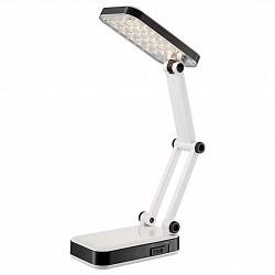 Настольная лампа GloboПолимерные<br>Артикул - GB_58352,Бренд - Globo (Австрия),Коллекция - Clap,Гарантия, месяцы - 24,Высота, мм - 60-370,Тип лампы - светодиодная [LED],Общее кол-во ламп - 1,Напряжение питания лампы, В - 5,Максимальная мощность лампы, Вт - 2.5,Лампы в комплекте - светодиодная [LED],Цвет плафонов и подвесок - белый, черный,Тип поверхности плафонов - матовый,Материал плафонов и подвесок - полимер,Цвет арматуры - белый, черный,Тип поверхности арматуры - матовый,Материал арматуры - полимер,Количество плафонов - 1,Класс электробезопасности - II,Степень пылевлагозащиты, IP - 20,Диапазон рабочих температур - комнатная температура,Дополнительные параметры - поворотный светильник<br>