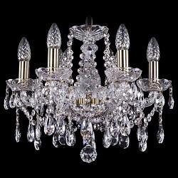 Подвесная люстра Bohemia Ivele Crystal5 или 6 ламп<br>Артикул - BI_1413_6_141_Pa,Бренд - Bohemia Ivele Crystal (Чехия),Коллекция - 1413,Гарантия, месяцы - 24,Высота, мм - 340,Диаметр, мм - 420,Размер упаковки, мм - 450x450x200,Тип лампы - компактная люминесцентная [КЛЛ] ИЛИнакаливания ИЛИсветодиодная [LED],Общее кол-во ламп - 6,Напряжение питания лампы, В - 220,Максимальная мощность лампы, Вт - 40,Лампы в комплекте - отсутствуют,Цвет плафонов и подвесок - неокрашенный,Тип поверхности плафонов - прозрачный,Материал плафонов и подвесок - хрусталь,Цвет арматуры - золото с патиной, неокрашенный,Тип поверхности арматуры - глянцевый, прозрачный, рельефный,Материал арматуры - металл, стекло,Возможность подлючения диммера - можно, если установить лампу накаливания,Форма и тип колбы - свеча ИЛИ свеча на ветру,Тип цоколя лампы - E14,Класс электробезопасности - I,Общая мощность, Вт - 240,Степень пылевлагозащиты, IP - 20,Диапазон рабочих температур - комнатная температура,Дополнительные параметры - способ крепления светильника к потолку - на крюке, указана высота светильника без подвеса<br>