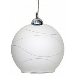 Подвесной светильник Arte LampДля кухни<br>Артикул - AR_A4627SP-1CC,Бренд - Arte Lamp (Италия),Коллекция - Crocus,Гарантия, месяцы - 24,Высота, мм - 1250,Диаметр, мм - 250,Тип лампы - компактная люминесцентная [КЛЛ] ИЛИнакаливания ИЛИсветодиодная [LED],Общее кол-во ламп - 1,Напряжение питания лампы, В - 220,Максимальная мощность лампы, Вт - 100,Лампы в комплекте - отсутствуют,Цвет плафонов и подвесок - белый полосатый,Тип поверхности плафонов - матовый,Материал плафонов и подвесок - стекло,Цвет арматуры - хром,Тип поверхности арматуры - глянцевый,Материал арматуры - металл,Количество плафонов - 1,Возможность подлючения диммера - можно, если установить лампу накаливания,Тип цоколя лампы - E27,Класс электробезопасности - I,Степень пылевлагозащиты, IP - 20,Диапазон рабочих температур - комнатная температура<br>