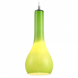Подвесной светильник Kink LightСветодиодные<br>Артикул - KL_07825-1.07,Бренд - Kink Light (Китай),Коллекция - Дюар,Гарантия, месяцы - 12,Высота, мм - 800,Диаметр, мм - 145,Размер упаковки, мм - 220x220x410,Тип лампы - компактная люминесцентная [КЛЛ] ИЛИнакаливания ИЛИсветодиодная [LED],Общее кол-во ламп - 1,Напряжение питания лампы, В - 220,Максимальная мощность лампы, Вт - 40,Лампы в комплекте - отсутствуют,Цвет плафонов и подвесок - зеленый,Тип поверхности плафонов - матовый,Материал плафонов и подвесок - стекло,Цвет арматуры - хром,Тип поверхности арматуры - глянцевый,Материал арматуры - металл,Возможность подлючения диммера - можно, если установить лампу накаливания,Тип цоколя лампы - E27,Класс электробезопасности - I,Степень пылевлагозащиты, IP - 20,Диапазон рабочих температур - комнатная температура,Дополнительные параметры - способ крепления светильника к потолку - на монтажной пластине<br>