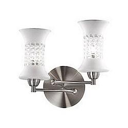 Бра Odeon LightБолее 1 лампы<br>Артикул - OD_2516_2W,Бренд - Odeon Light (Италия),Коллекция - Rukba,Гарантия, месяцы - 24,Время изготовления, дней - 1,Высота, мм - 260,Тип лампы - галогеновая,Общее кол-во ламп - 2,Напряжение питания лампы, В - 220,Максимальная мощность лампы, Вт - 40,Лампы в комплекте - галогеновые G9,Цвет плафонов и подвесок - белый,Тип поверхности плафонов - глянцевый,Материал плафонов и подвесок - стекло,Цвет арматуры - никель,Тип поверхности арматуры - глянцевый,Материал арматуры - металл,Возможность подлючения диммера - можно,Форма и тип колбы - пальчиковая,Тип цоколя лампы - G9,Класс электробезопасности - I,Общая мощность, Вт - 80,Степень пылевлагозащиты, IP - 20,Диапазон рабочих температур - комнатная температура,Дополнительные параметры - светильник предназначен для использования со скрытой проводкой<br>