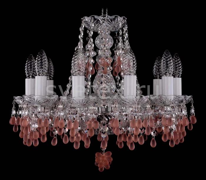 Фото Подвесная люстра Bohemia Ivele Crystal 1410 1410/10/141/Ni/7010