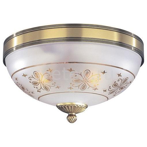 Накладной светильник Reccagni AngeloКруглые<br>Артикул - RA_PL_6002_2,Бренд - Reccagni Angelo (Италия),Коллекция - 6002,Гарантия, месяцы - 24,Высота, мм - 170,Диаметр, мм - 300,Тип лампы - компактная люминесцентная [КЛЛ] ИЛИнакаливания ИЛИсветодиодная [LED],Общее кол-во ламп - 2,Напряжение питания лампы, В - 220,Максимальная мощность лампы, Вт - 60,Лампы в комплекте - отсутствуют,Цвет плафонов и подвесок - белый с рисунком,Тип поверхности плафонов - матовый,Материал плафонов и подвесок - стекло,Цвет арматуры - бронза состаренная,Тип поверхности арматуры - матовый, рельефный,Материал арматуры - латунь,Количество плафонов - 1,Возможность подлючения диммера - можно, если установить лампу накаливания,Тип цоколя лампы - E27,Класс электробезопасности - I,Общая мощность, Вт - 120,Степень пылевлагозащиты, IP - 20,Диапазон рабочих температур - комнатная температура,Дополнительные параметры - способ крепления к потолку - на монтажной пластине<br>