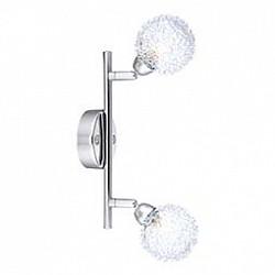 Спот GloboС 2 лампами<br>Артикул - GB_56624-2,Бренд - Globo (Австрия),Коллекция - Orina,Гарантия, месяцы - 24,Время изготовления, дней - 1,Диаметр, мм - 85,Размер упаковки, мм - 235x440x440,Тип лампы - галогеновая,Общее кол-во ламп - 2,Напряжение питания лампы, В - 220,Максимальная мощность лампы, Вт - 33,Лампы в комплекте - галогеновые G9,Цвет плафонов и подвесок - неокрашенный, хром,Тип поверхности плафонов - прозрачный, рельефный,Материал плафонов и подвесок - стекло, металл,Цвет арматуры - хром,Тип поверхности арматуры - глянцевый,Материал арматуры - металл,Возможность подлючения диммера - можно,Форма и тип колбы - пальчиковая,Тип цоколя лампы - G9,Класс электробезопасности - I,Общая мощность, Вт - 66,Степень пылевлагозащиты, IP - 20,Диапазон рабочих температур - комнатная температура,Дополнительные параметры - поворотный светильник, диаметр плафона 80 мм<br>