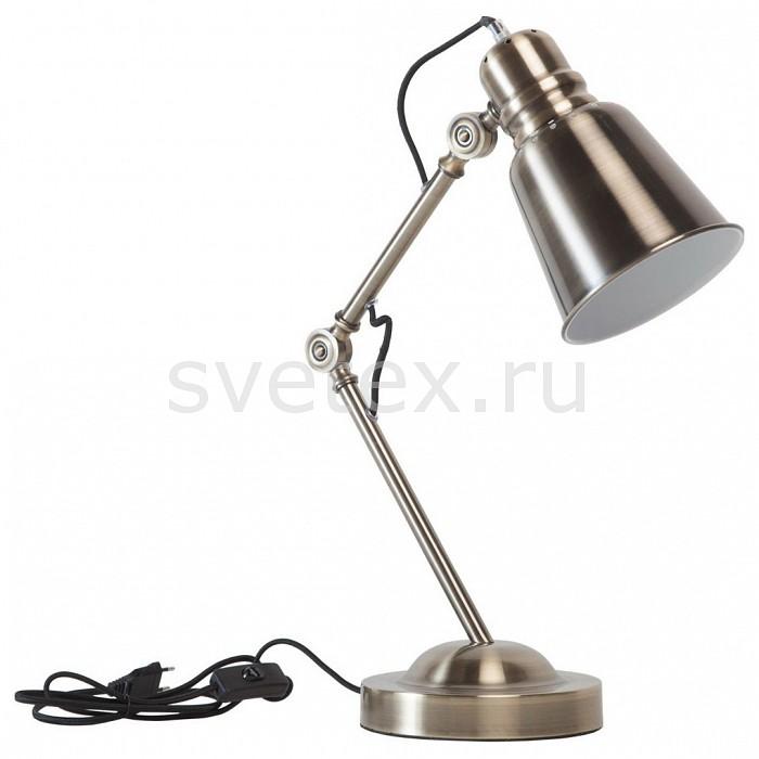 Настольная лампа RegenBogen LIFEТочечные светильники<br>Артикул - MW_497033701,Бренд - RegenBogen LIFE (Германия),Коллекция - Хоф 2,Гарантия, месяцы - 24,Высота, мм - 660,Диаметр, мм - 180,Тип лампы - компактная люминесцентная [КЛЛ] ИЛИнакаливания ИЛИсветодиодная [LED],Общее кол-во ламп - 1,Напряжение питания лампы, В - 220,Максимальная мощность лампы, Вт - 40,Лампы в комплекте - отсутствуют,Цвет плафонов и подвесок - бронза античная,Тип поверхности плафонов - матовый,Материал плафонов и подвесок - металл,Цвет арматуры - бронза античная,Тип поверхности арматуры - матовый,Материал арматуры - металл,Количество плафонов - 1,Наличие выключателя, диммера или пульта ДУ - выключатель на проводе,Компоненты, входящие в комплект - провод электропитания с вилкой без заземления,Тип цоколя лампы - E27,Класс электробезопасности - II,Степень пылевлагозащиты, IP - 20,Диапазон рабочих температур - комнатная температура,Дополнительные параметры - поворотный светильник<br>