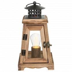 Настольная лампа декоративная GloboДеревянные<br>Артикул - GB_28188,Бренд - Globo (Австрия),Коллекция - Fanal,Гарантия, месяцы - 24,Высота, мм - 265,Тип лампы - светодиодная [LED],Общее кол-во ламп - 1,Напряжение питания лампы, В - 4.5,Максимальная мощность лампы, Вт - 0.06,Лампы в комплекте - светодиодная [LED],Цвет плафонов и подвесок - коричневый, неокрашенный,Тип поверхности плафонов - матовый, прозрачный,Материал плафонов и подвесок - дерево, стекло,Цвет арматуры - коричневый,Тип поверхности арматуры - матовый,Материал арматуры - дерево, металл,Класс электробезопасности - III,Степень пылевлагозащиты, IP - 20,Диапазон рабочих температур - комнатная температура,Дополнительные параметры - стиль кантри<br>