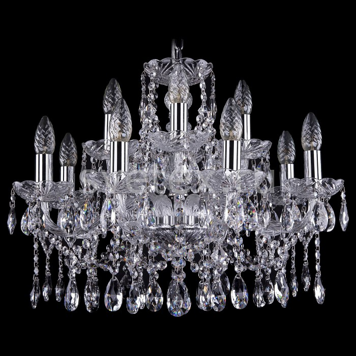 Подвесная люстра Bohemia Ivele CrystalБолее 6 ламп<br>Артикул - BI_1413_8_4_200_Ni,Бренд - Bohemia Ivele Crystal (Чехия),Коллекция - 1413,Гарантия, месяцы - 24,Высота, мм - 470,Диаметр, мм - 570,Размер упаковки, мм - 510x510x200,Тип лампы - компактная люминесцентная [КЛЛ] ИЛИнакаливания ИЛИсветодиодная [LED],Общее кол-во ламп - 12,Напряжение питания лампы, В - 220,Максимальная мощность лампы, Вт - 40,Лампы в комплекте - отсутствуют,Цвет плафонов и подвесок - неокрашенный,Тип поверхности плафонов - прозрачный,Материал плафонов и подвесок - хрусталь,Цвет арматуры - неокрашенный, никель,Тип поверхности арматуры - глянцевый, прозрачный, рельефный,Материал арматуры - металл, стекло,Возможность подлючения диммера - можно, если установить лампу накаливания,Форма и тип колбы - свеча ИЛИ свеча на ветру,Тип цоколя лампы - E14,Класс электробезопасности - I,Общая мощность, Вт - 480,Степень пылевлагозащиты, IP - 20,Диапазон рабочих температур - комнатная температура,Дополнительные параметры - способ крепления светильника к потолку - на крюке, указана высота светильника без подвеса<br>