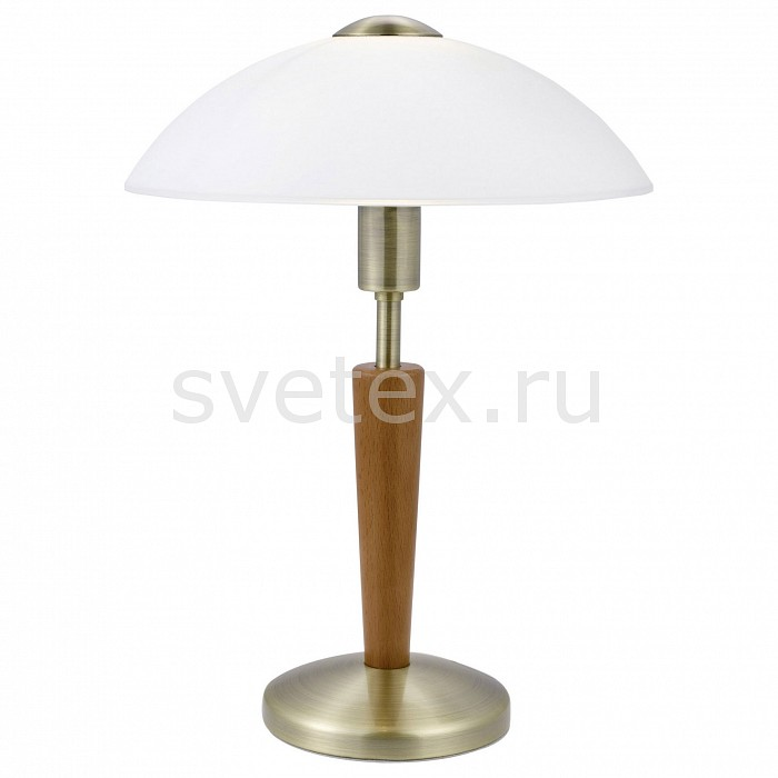 Фото Настольная лампа Eglo E14 220В 60Вт Solo 1 87256