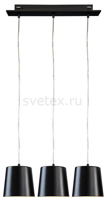 Подвесной светильник markslojdСветодиодные<br>Артикул - ML_105751,Бренд - markslojd (Швеция),Коллекция - Bin,Гарантия, месяцы - 24,Длина, мм - 500,Ширина, мм - 160,Высота, мм - 1200,Диаметр, мм - 160,Размер упаковки, мм - 440x580x540,Тип лампы - светодиодная [LED],Общее кол-во ламп - 3,Максимальная мощность лампы, Вт - 6,Цвет лампы - белый,Лампы в комплекте - светодиодные [LED],Цвет плафонов и подвесок - черный,Тип поверхности плафонов - матовый,Материал плафонов и подвесок - металл,Цвет арматуры - черный,Тип поверхности арматуры - матовый,Материал арматуры - металл,Количество плафонов - 3,Возможность подлючения диммера - нельзя,Цветовая температура, K - 4000 K,Световой поток, лм - 2640,Экономичнее лампы накаливания - в 10 раз,Светоотдача, лм/Вт - 147,Класс электробезопасности - I,Напряжение питания, В - 220,Общая мощность, Вт - 18,Степень пылевлагозащиты, IP - 20,Диапазон рабочих температур - комнатная температура,Дополнительные параметры - способ крепления светильника к потолку - на монтажной пластине<br>