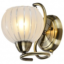 Бра IDLampС 1 лампой<br>Артикул - ID_237_1A-Oldbronze,Бренд - IDLamp (Италия),Коллекция - 237,Высота, мм - 180,Тип лампы - компактная люминесцентная [КЛЛ] ИЛИнакаливания ИЛИсветодиодная [LED],Общее кол-во ламп - 1,Напряжение питания лампы, В - 220,Максимальная мощность лампы, Вт - 60,Лампы в комплекте - отсутствуют,Цвет плафонов и подвесок - белый полосатый,Тип поверхности плафонов - матовый,Материал плафонов и подвесок - стекло,Цвет арматуры - бронза античная,Тип поверхности арматуры - глянцевый,Материал арматуры - металл,Возможность подлючения диммера - можно, если установить лампу накаливания,Тип цоколя лампы - E27,Класс электробезопасности - I,Степень пылевлагозащиты, IP - 20,Диапазон рабочих температур - комнатная температура,Дополнительные параметры - светильник предназначен для использования со скрытой проводкой, способ крепления светильника к стене – на монтажной пластине<br>