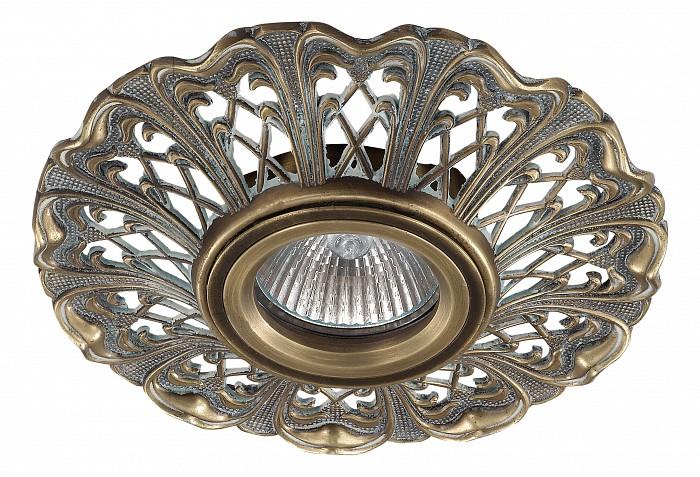 Фото Встраиваемый светильник Novotech Vintage 370032