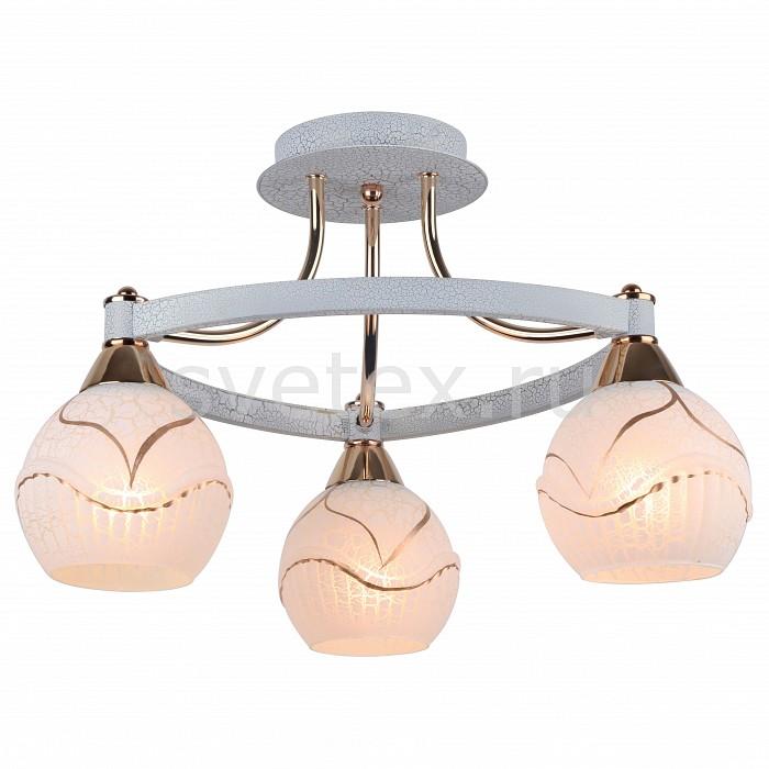 Потолочная люстра Arte LampЛюстры<br>Артикул - AR_A6173PL-3WG,Бренд - Arte Lamp (Италия),Коллекция - Daniella,Гарантия, месяцы - 24,Время изготовления, дней - 1,Высота, мм - 300,Диаметр, мм - 460,Тип лампы - компактная люминесцентная [КЛЛ] ИЛИнакаливания ИЛИсветодиодная [LED],Общее кол-во ламп - 3,Напряжение питания лампы, В - 220,Максимальная мощность лампы, Вт - 60,Лампы в комплекте - отсутствуют,Цвет плафонов и подвесок - белый с рисунком,Тип поверхности плафонов - матовый,Материал плафонов и подвесок - стекло,Цвет арматуры - белый, золото,Тип поверхности арматуры - матовый,Материал арматуры - металл,Количество плафонов - 3,Возможность подлючения диммера - можно, если установить лампу накаливания,Тип цоколя лампы - E27,Класс электробезопасности - I,Общая мощность, Вт - 300,Степень пылевлагозащиты, IP - 20,Диапазон рабочих температур - комнатная температура<br>