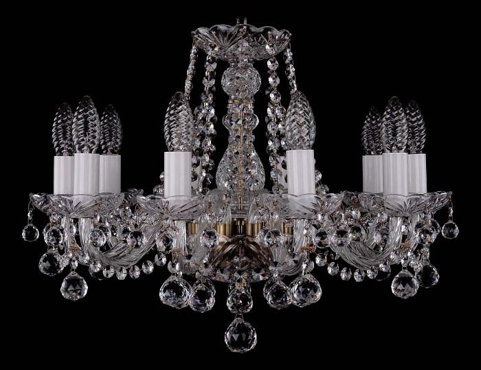 Фото Подвесная люстра Bohemia Ivele Crystal 1402 1402/10/160/Pa/Balls