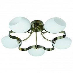 Потолочная люстра IDLamp5 или 6 ламп<br>Артикул - ID_601_5PF-SUNoldbronze,Бренд - IDLamp (Италия),Коллекция - 601,Гарантия, месяцы - 24,Время изготовления, дней - 1,Высота, мм - 280,Диаметр, мм - 590,Тип лампы - компактная люминесцентная [КЛЛ] ИЛИнакаливания ИЛИсветодиодная [LED],Общее кол-во ламп - 5,Напряжение питания лампы, В - 220,Максимальная мощность лампы, Вт - 60,Лампы в комплекте - отсутствуют,Цвет плафонов и подвесок - белый,Тип поверхности плафонов - матовый,Материал плафонов и подвесок - стекло,Цвет арматуры - бронза античная,Тип поверхности арматуры - глянцевый,Материал арматуры - металл,Возможность подлючения диммера - можно, если установить лампу накаливания,Тип цоколя лампы - E14,Класс электробезопасности - I,Общая мощность, Вт - 300,Степень пылевлагозащиты, IP - 20,Диапазон рабочих температур - комнатная температура,Дополнительные параметры - способ крепления светильника к потолку — на монтажной пластине<br>