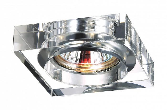 Фото Встраиваемый светильник Novotech Glass 369482