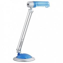 Настольная лампа GloboПолимерные<br>Артикул - GB_58125,Бренд - Globo (Австрия),Коллекция - Thetys,Гарантия, месяцы - 24,Высота, мм - 580,Диаметр, мм - 190,Размер упаковки, мм - 500x230x85,Тип лампы - компактная люминесцентная [КЛЛ] ИЛИсветодиодная [LED],Общее кол-во ламп - 1,Напряжение питания лампы, В - 220,Максимальная мощность лампы, Вт - 20,Лампы в комплекте - отсутствуют,Цвет плафонов и подвесок - голубой,Тип поверхности плафонов - матовый,Материал плафонов и подвесок - полимер,Цвет арматуры - голубой, серебро,Тип поверхности арматуры - матовый,Материал арматуры - полимер, металл,Тип цоколя лампы - E27,Класс электробезопасности - II,Степень пылевлагозащиты, IP - 20,Диапазон рабочих температур - комнатная температура,Дополнительные параметры - поворотный светильник<br>
