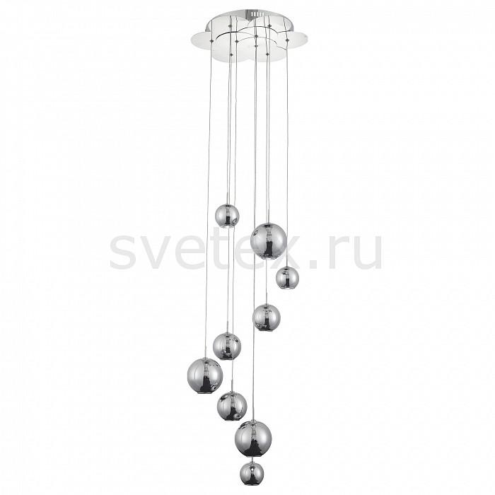 Подвесная люстра ST-LuceМеталлические плафоны<br>Артикул - SL936.103.09,Бренд - ST-Luce (Китай),Коллекция - Mella,Гарантия, месяцы - 24,Высота, мм - 2000,Диаметр, мм - 400,Размер упаковки, мм - 500x500x260,Тип лампы - светодиодная [LED],Общее кол-во ламп - 9,Максимальная мощность лампы, Вт - 3,Цвет лампы - белый дневной,Лампы в комплекте - светодиодные [LED],Цвет плафонов и подвесок - хром,Тип поверхности плафонов - глянцевый,Материал плафонов и подвесок - металл,Цвет арматуры - хром,Тип поверхности арматуры - глянцевый,Материал арматуры - металл,Количество плафонов - 9,Возможность подлючения диммера - нельзя,Цветовая температура, K - 6000 K,Экономичнее лампы накаливания - в 10 раз,Класс электробезопасности - I,Напряжение питания, В - 220,Общая мощность, Вт - 27,Степень пылевлагозащиты, IP - 20,Диапазон рабочих температур - комнатная температура,Дополнительные параметры - способ крепления светильника к потолоку - на монтажной пластине<br>