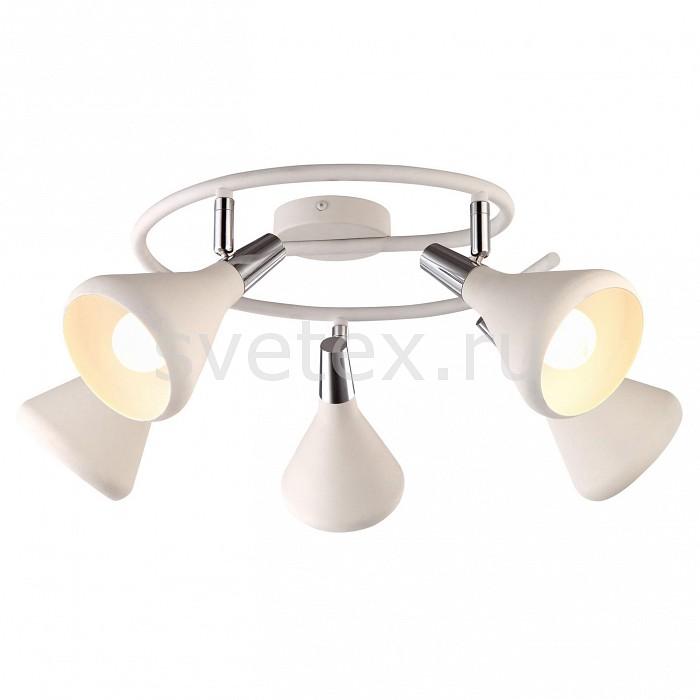 Спот Arte LampСпоты<br>Артикул - AR_A9155PL-5WH,Бренд - Arte Lamp (Италия),Коллекция - Ciclone,Гарантия, месяцы - 24,Выступ, мм - 180,Диаметр, мм - 650,Тип лампы - компактная люминесцентная [КЛЛ] ИЛИнакаливания ИЛИсветодиодная [LED],Общее кол-во ламп - 5,Напряжение питания лампы, В - 220,Максимальная мощность лампы, Вт - 40,Лампы в комплекте - отсутствуют,Цвет плафонов и подвесок - белый,Тип поверхности плафонов - матовый,Материал плафонов и подвесок - металл,Цвет арматуры - белый, хром,Тип поверхности арматуры - глянцевый, матовый,Материал арматуры - металл,Количество плафонов - 5,Возможность подлючения диммера - можно, если установить лампу накаливания,Тип цоколя лампы - E14,Класс электробезопасности - I,Общая мощность, Вт - 200,Степень пылевлагозащиты, IP - 20,Диапазон рабочих температур - комнатная температура,Дополнительные параметры - способ крепления светильника к стене и потолку - на монтажной пластине, повоторный светильник<br>