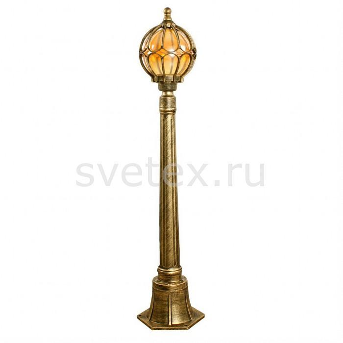 Наземный высокий светильник FeronСветильники<br>Артикул - FE_11374,Бренд - Feron (Китай),Коллекция - Сфера,Гарантия, месяцы - 24,Высота, мм - 1100,Диаметр, мм - 180,Тип лампы - компактная люминесцентная [КЛЛ] ИЛИнакаливания ИЛИсветодиодная [LED],Общее кол-во ламп - 1,Напряжение питания лампы, В - 220,Максимальная мощность лампы, Вт - 60,Лампы в комплекте - отсутствуют,Цвет плафонов и подвесок - желтый,Тип поверхности плафонов - прозрачный,Материал плафонов и подвесок - стекло,Цвет арматуры - золото черненое,Тип поверхности арматуры - матовый,Материал арматуры - силумин,Количество плафонов - 1,Тип цоколя лампы - E27,Класс электробезопасности - I,Степень пылевлагозащиты, IP - 44,Диапазон рабочих температур - от -40^C до +40^C<br>