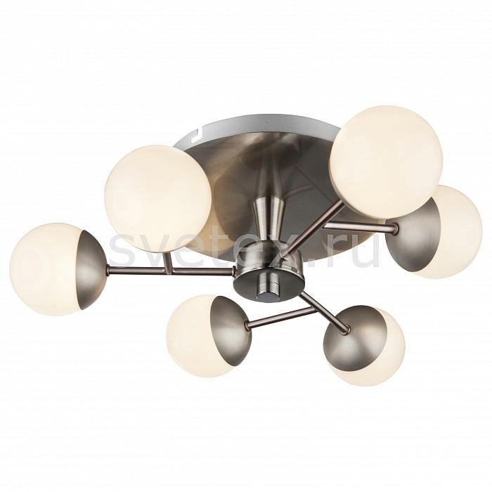 Люстра на штанге GloboПолимерные плафоны<br>Артикул - GB_56222-6,Бренд - Globo (Австрия),Коллекция - Marta,Гарантия, месяцы - 24,Высота, мм - 130,Диаметр, мм - 405,Тип лампы - светодиодная [LED],Общее кол-во ламп - 6,Напряжение питания лампы, В - 220,Максимальная мощность лампы, Вт - 4,Цвет лампы - белый теплый,Лампы в комплекте - светодиодные [LED],Цвет плафонов и подвесок - белый,Тип поверхности плафонов - матовый,Материал плафонов и подвесок - полимер,Цвет арматуры - никель,Тип поверхности арматуры - матовый,Материал арматуры - металл,Количество плафонов - 6,Возможность подлючения диммера - нельзя,Цветовая температура, K - 3200 K,Световой поток, лм - 1920,Экономичнее лампы накаливания - В 5, 9 раза,Светоотдача, лм/Вт - 80,Класс электробезопасности - I,Общая мощность, Вт - 24,Степень пылевлагозащиты, IP - 20,Диапазон рабочих температур - комнатная температура,Дополнительные параметры - способ крепления светильника к потолку - на монтажной пластине<br>